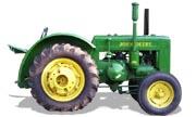John Deere D tractor photo