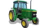 John Deere 6605 tractor photo