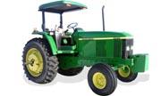 John Deere 7405 tractor photo