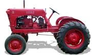 Haas D tractor photo