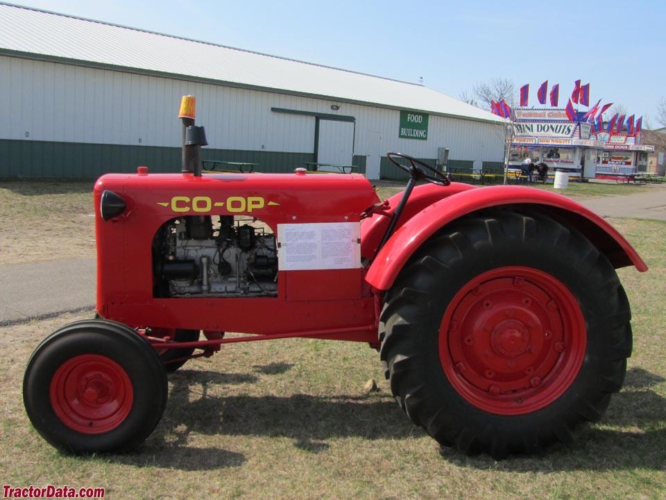 Tractor Data Farm Tractors : Tractordata co op tractor photos information