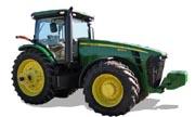 John Deere 8295R tractor photo