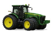 John Deere 8345R tractor photo