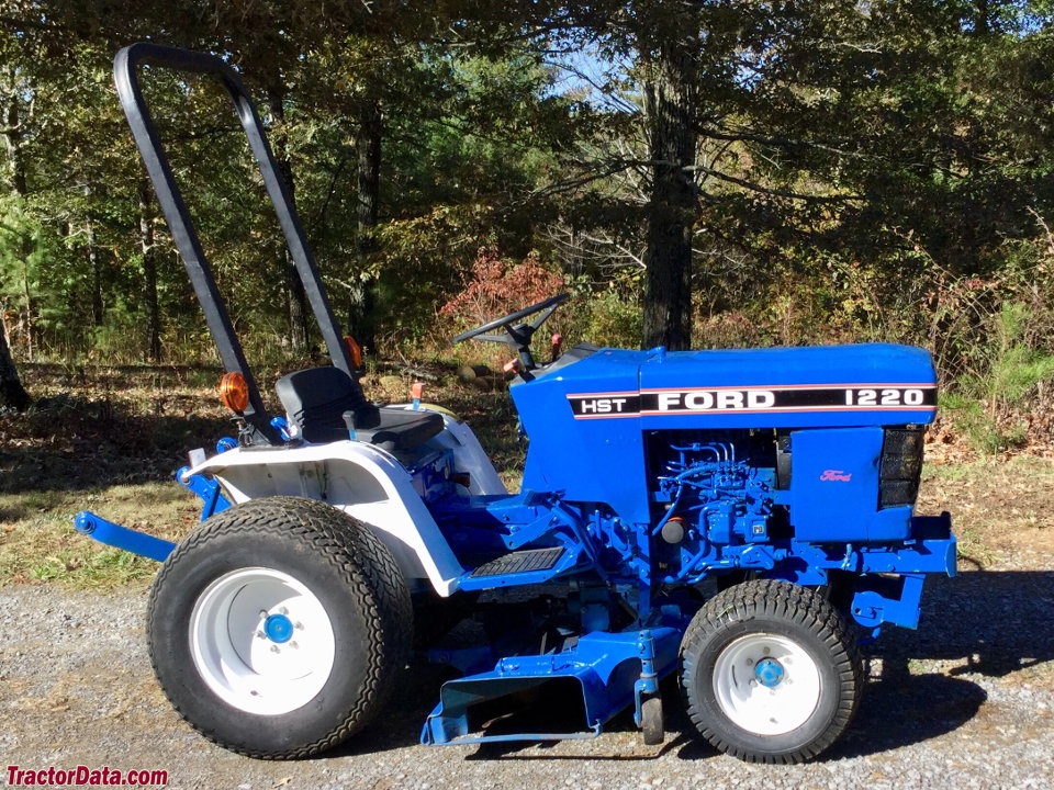 tractordata ford 1220 tractor photos information Small Ford Diesel Tractors ford 1220