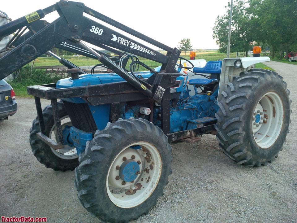 Tractordata Com Ford 5030 Tractor Photos Information