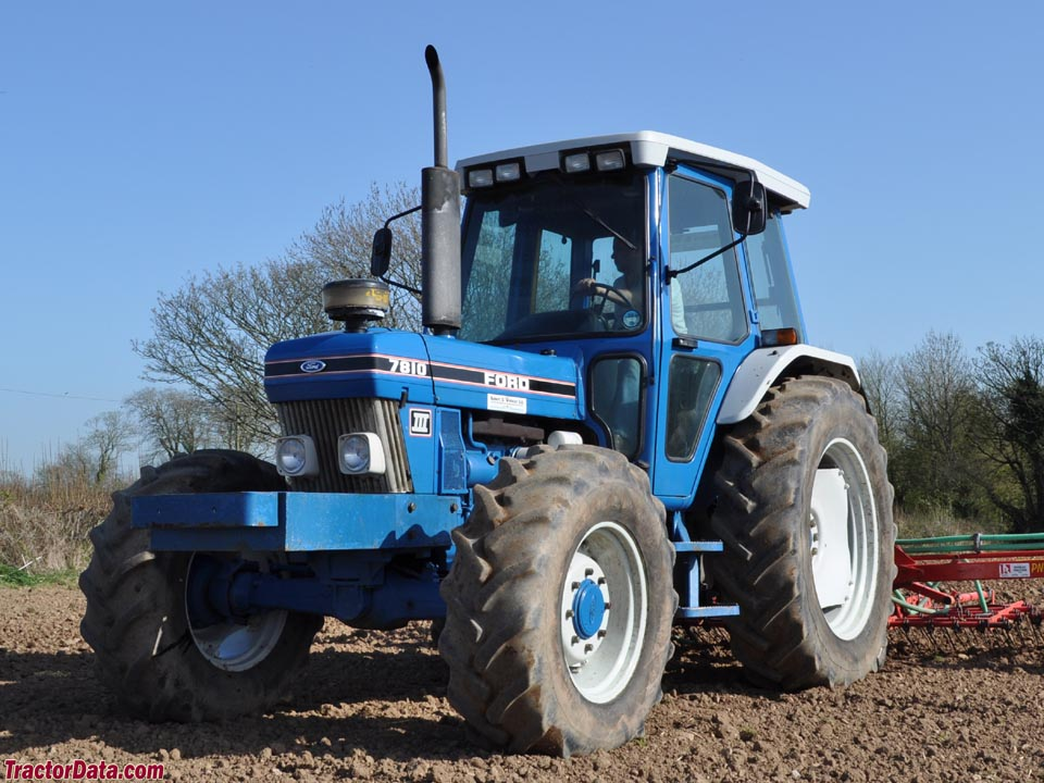 Ford 7810 Tractor : Tractordata ford tractor photos information