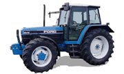 Ford 8240 tractor photo