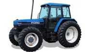 Ford 8340 tractor photo