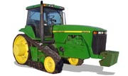 John Deere 8300T tractor photo