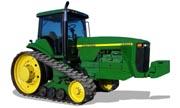 John Deere 8400T tractor photo