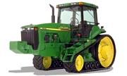 John Deere 8110T tractor photo