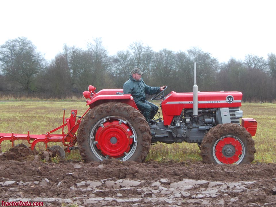 Massey Ferguson 178 with four-wheel drive.