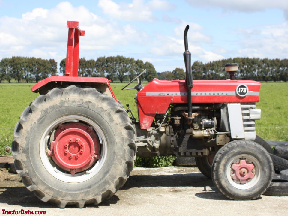 Two-wheel drive Massey Ferguson 178.