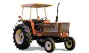 Hesston 580 tractor photo