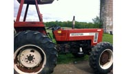 Hesston 766 tractor photo