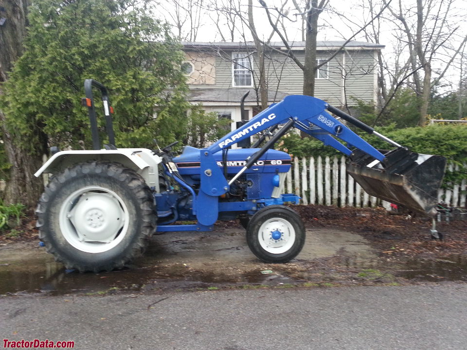 Farmtrac 60 tractor with model 5345 loader.