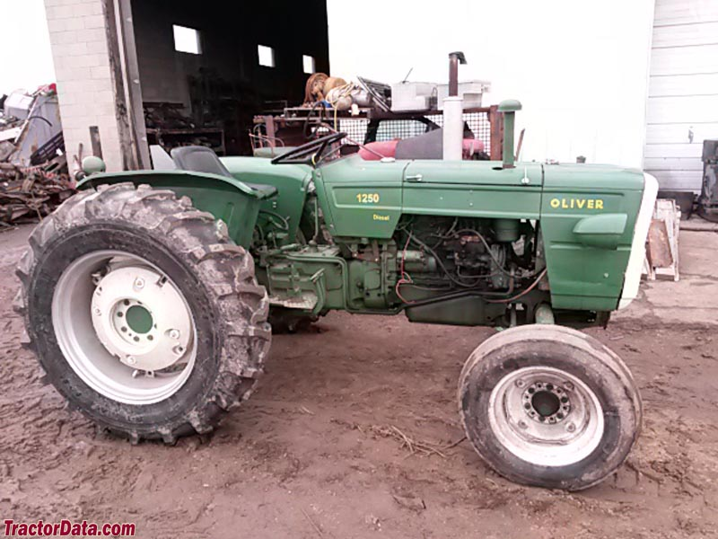 Fiat Built Oliver Tractors : Tractordata oliver tractor photos information