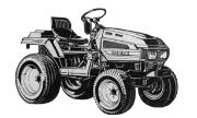 Iseki TU324 tractor photo