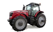 Massey Ferguson 8650 tractor photo