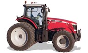 Massey Ferguson 8660 tractor photo