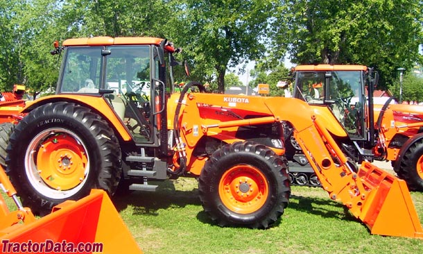Kubota M135X with front loader