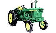 John Deere 4025 tractor photo