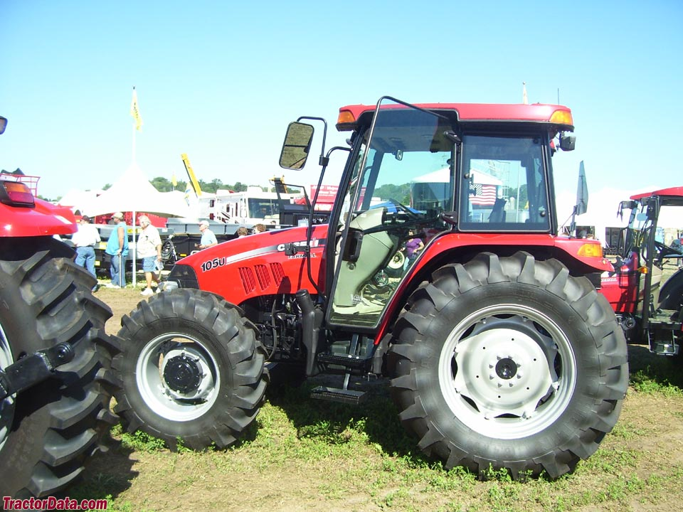 Case IH Farmall 105U with cab.