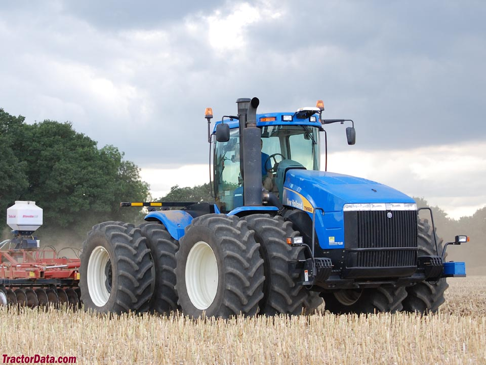 Agricultural Air Filters For Tractors : Tractordata new holland t tractor photos information