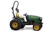 John Deere 2720 tractor photo