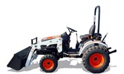 Bobcat CT122 tractor photo