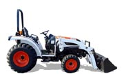 Bobcat CT335 tractor photo
