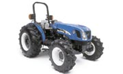 New Holland TN95A tractor photo