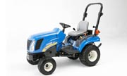 New Holland Boomer 1020 tractor photo