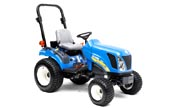 New Holland Boomer 1030 tractor photo