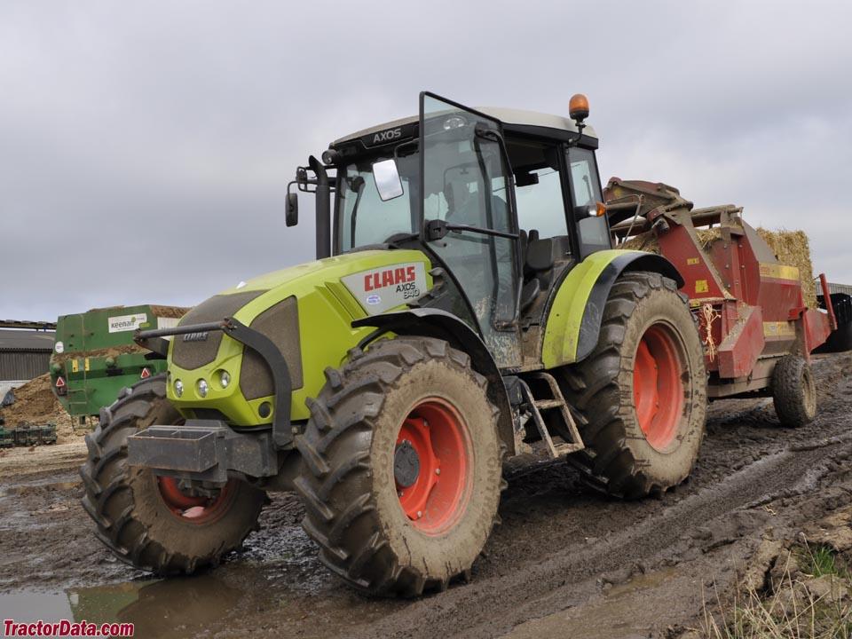 Tractordata Com Claas Axos 340 Cx Tractor Photos Information