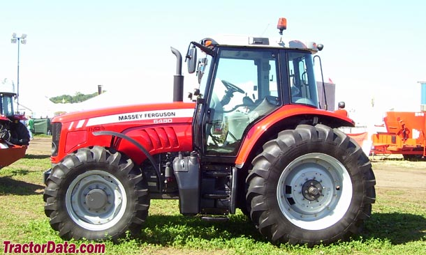 Massey Ferguson 6480 left-side profile