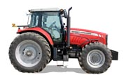 Massey Ferguson 7495 tractor photo