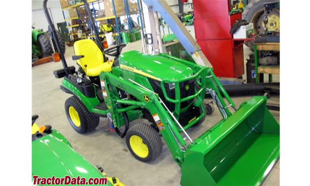 Loader mounted on John Deere 1026R