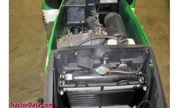John Deere 1026R  engine photo