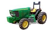 John Deere 6120L tractor photo