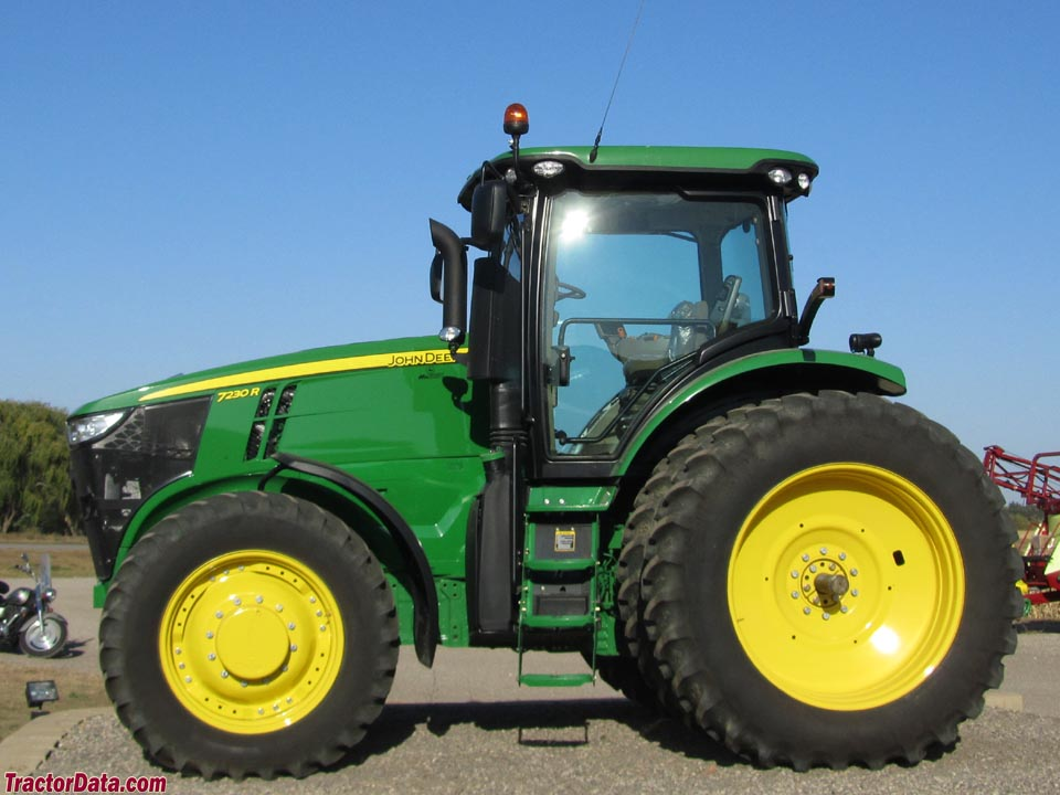Side Picture Of Tractor : Tractordata john deere r tractor photos information