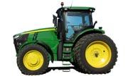 John Deere 7260R tractor photo