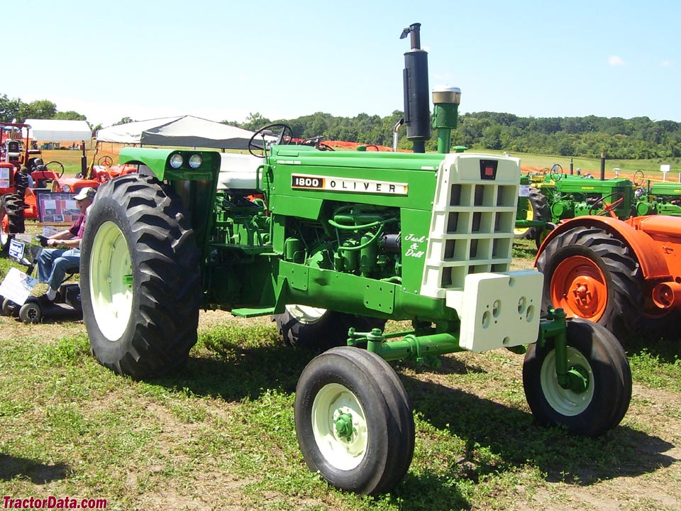 tractordata oliver 1800 series b c tractor photos information