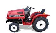 Mitsubishi MTX15 tractor photo
