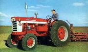 Farmall A-554 tractor photo