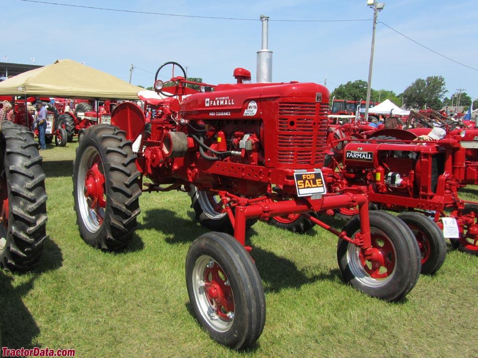 Tractor Data Farm Tractors : Tractordata farmall super mv tractor photos information