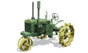 John Deere GPWT tractor photo