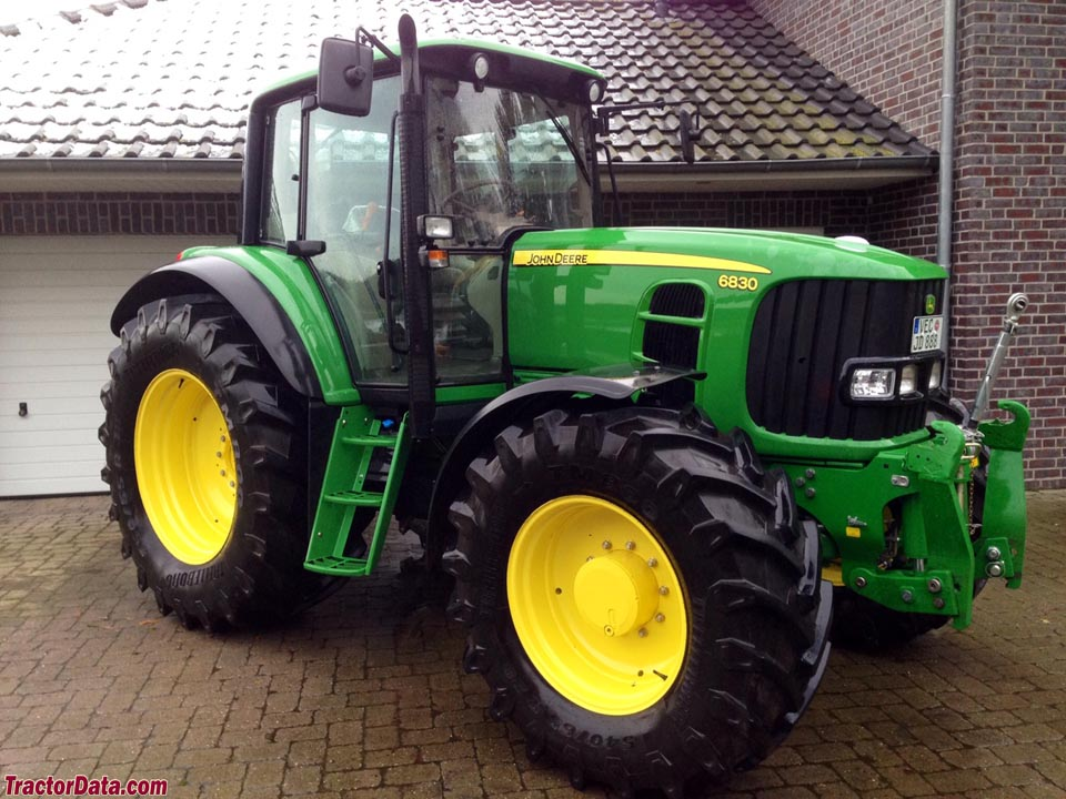 What Is Transmission >> TractorData.com John Deere 6830 tractor photos information