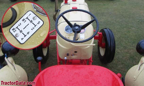 Cockshutt 550  transmission photo