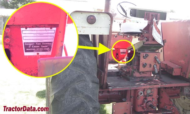 Tractordata Com Cockshutt 1850 Tractor Information
